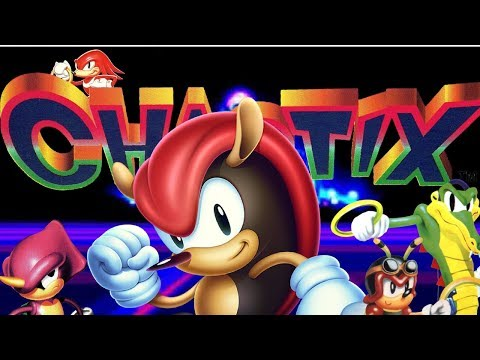 Chaotix - Mighty The Armadillo Playthrough (Part 1 of 3)