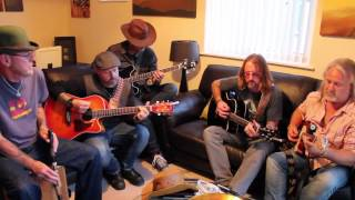 Live In The Living Room: The Wasted Rock Rangers - California Turnaround