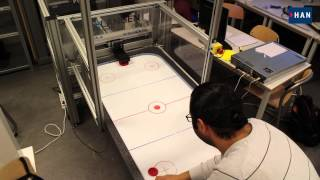 Robotic Air Hockey Table