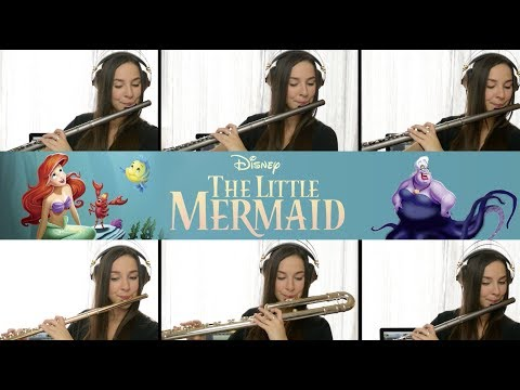 The Little Mermaid: Part Of Your World - Flute Cover