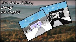 Roblox Welcome To Bloxburg Build Off || With KhadyWolf || SPN