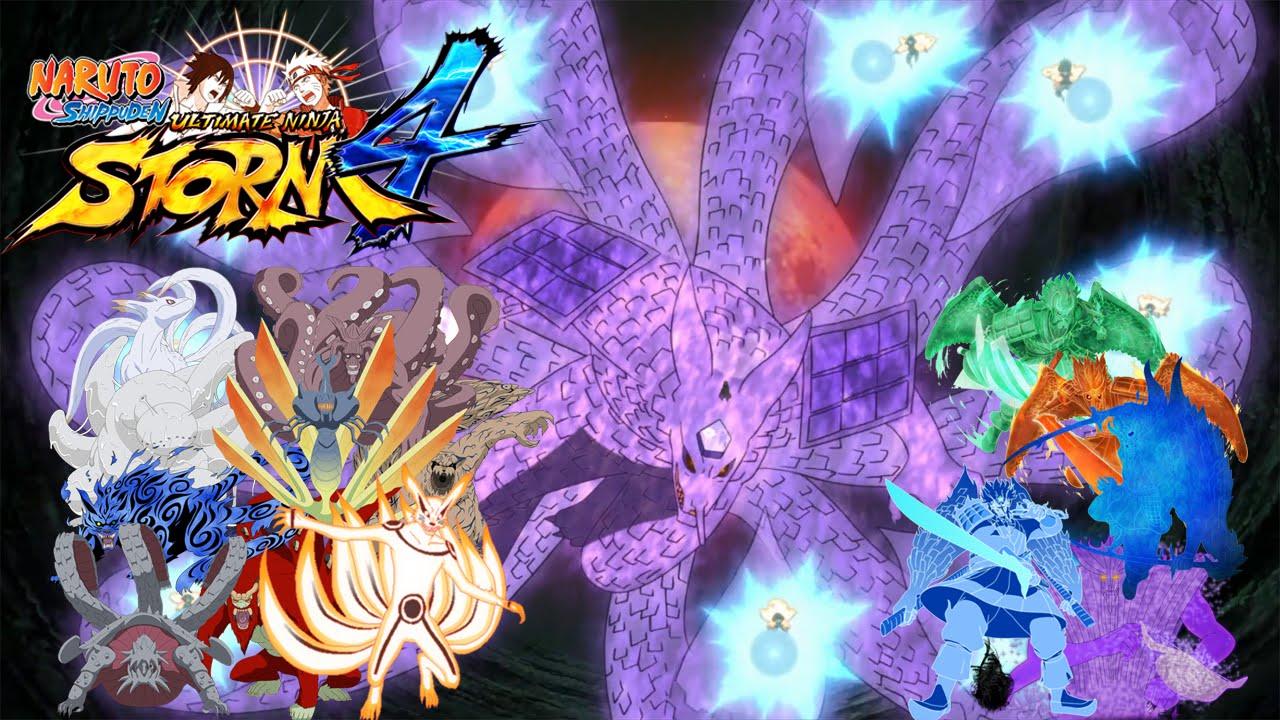 Naruto Ultimate Ninja Storm 4 - Susanoo Kurama (Majestic ...