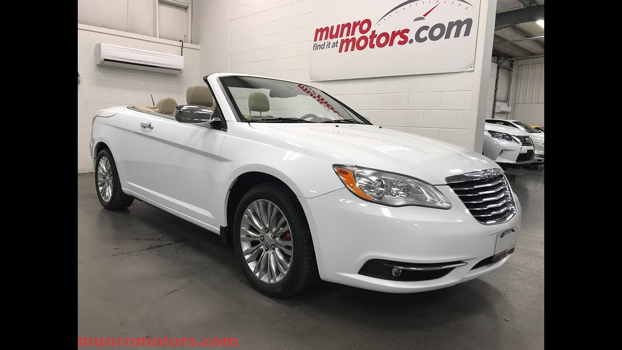 2011 chrysler 200 limited hardtop convertible
