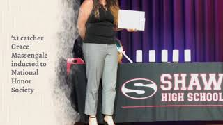 '21 catcher Grace Massengale inducted to National Honor Society