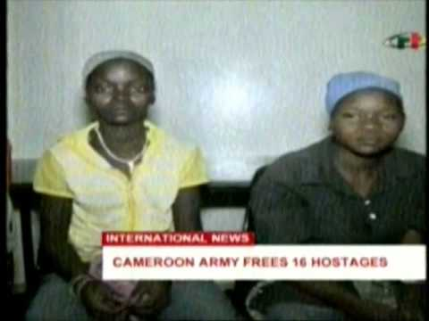 Cameroon army frees 16 hostages