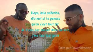 Gims Feat Maluma Hola Senorita paroles lyrics gims maluma holasenorita.mp3