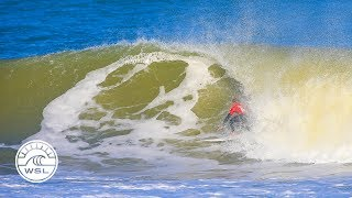 2018 Caraïbos Lacanau Pro Highlights: Mignot and Tuach Lead into Finals Day
