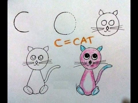 ABC Learning for Kids draw Pictures from the alphabetical letters