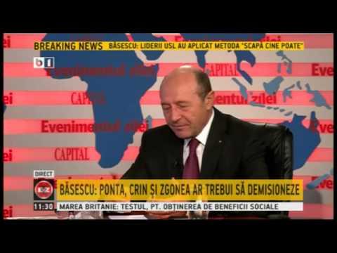 Traian Basescu, la Evenimentul Zilei (B1 TV), 13 decembrie 2013 -- Emisiune completa