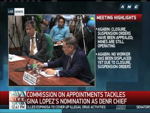 WATCH: Duterte backs Lopez, finance chief told