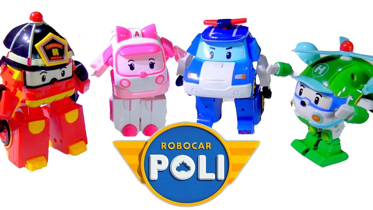 Robocar poli transformer poli amber roy helly kids 39 toys youtube - Robocar poli ambre ...