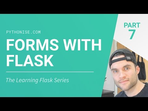 Forms With Flask - Python On The Web - Learning Flask Series Pt 7