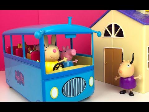 Peppa Escolar Escolar Autobus Autobus De Autobus Peppa Pig De Pig YfI7v6gyb