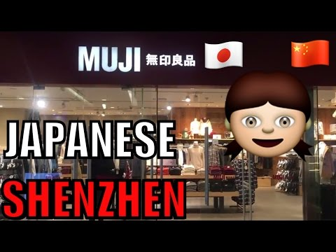 MUJI JAPANESE STORE IN SHENZHEN CHINA WHAT YOU CAN FIND