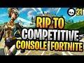 How Epic Killed Competitive Console Fortnite! (Season 5 Console Fortnite Battle Royale)
