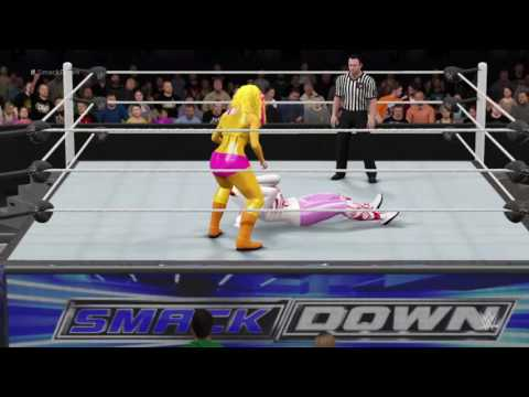 WWE 2K16: Funtime Foxy VS Toy Chica