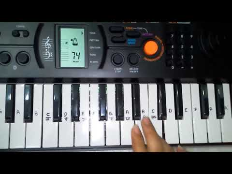 Na Kajare Ki Dhar Piano Cover