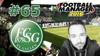 Football Manager 2016 #65 - Gegen Young Boys Bern! [Let's Play / Deutsch / FC St. Gallen]