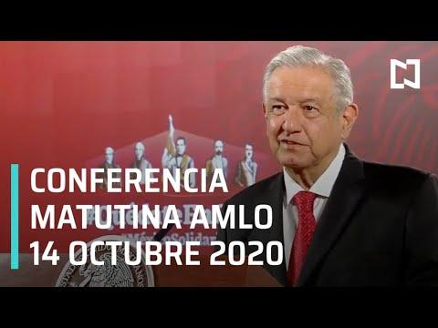 Conferencia matutina AMLO / 14 de octubre 2020
