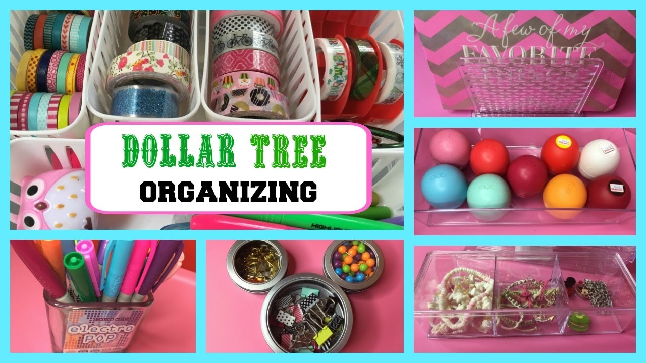 new dollar tree organization storage ideas new acrylic makeup crafts office planner. Black Bedroom Furniture Sets. Home Design Ideas