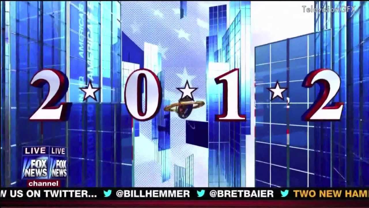 FOX News Election Night Open 2012