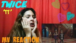 twice 트와이스 tt 티티 mv reaction vdeo reaccin