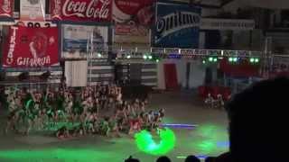 TRIBU GUACARA 2014 - Baile Mujeres y hombres