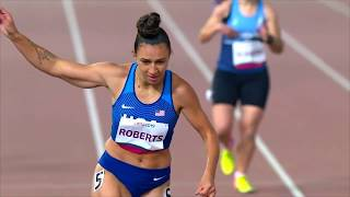 Jaleen Roberts Wins Gold In T37 200m | Parapan American Games Lima 2019