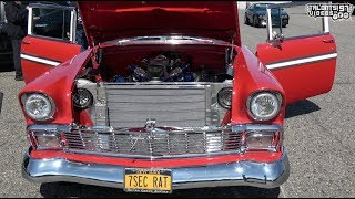 Stunning Twin Turbo Bel Air Drag Testing | Drag Week / New York Street Outlaw |