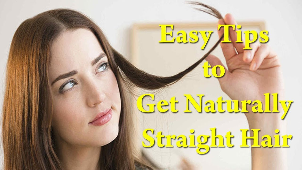 Home Remedies to Get Straight Hair   Magical Hair Mask ...