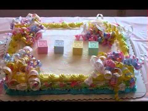Diy Easy Baby Shower Cake Ideas Youtube