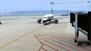 [FS2004] British Airways A319 landing at Zürich Kloten Airport