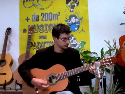 guitare classique almeria s2 youtube. Black Bedroom Furniture Sets. Home Design Ideas