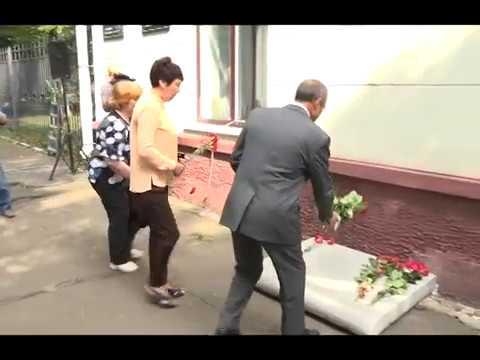 Мемориальную доску Почетному гражданину Абраму Мордуховичу открыли в Биробиджане(РИА Биробиджан)