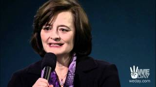 Cherie Blair offers words of advice for young people