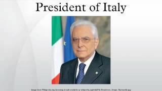 President of Italy
