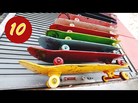 Fun With 10 SKATEBOARDS