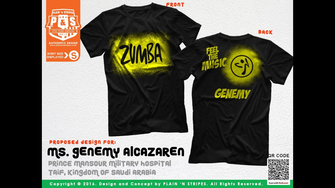Design t shirt zumba - Zumba Shirt T Shirt Production