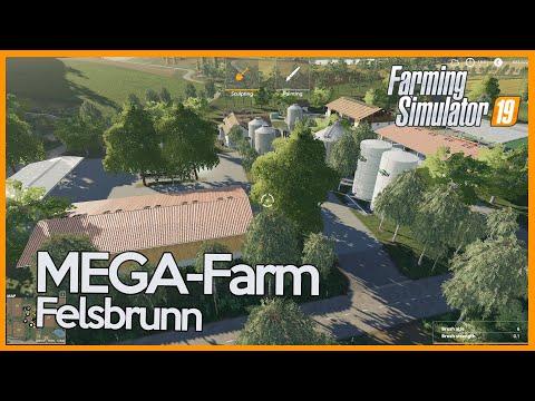 FS19 - Building A Farm On Felsbrunn - Timelapse