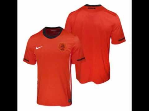 Camiseta Nike de Holanda para el Mundial 2010.