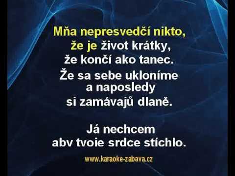 Prvá - No Name Karaoke tip