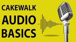 How To Use Cakewalk by Bandlab - Audio Basics