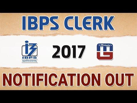 IBPS Clerk-VII-Notification | Recruitment 2017 | Advertisement | Sarkari Naukari
