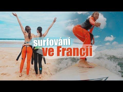 VLOG | Vyrazili jsme surfovat do Francie!
