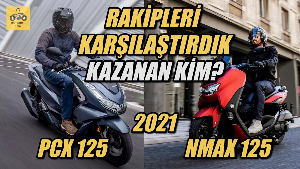 2021 PCX 125 ile 2021 NMAX 125 Scooter  Modellerini Karşılaştırdık | Hayat Motorla Güzel