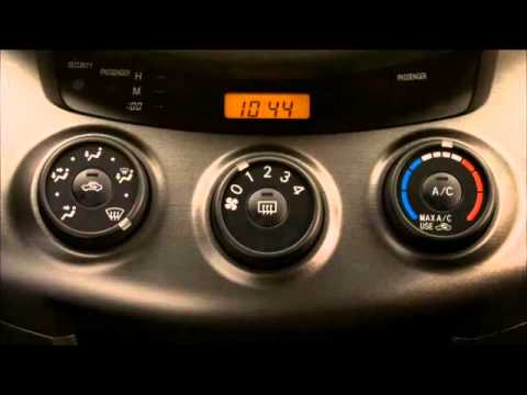 Air Conditioner Defrost the Windows Rav4 Toyota of Slidell  YouTube