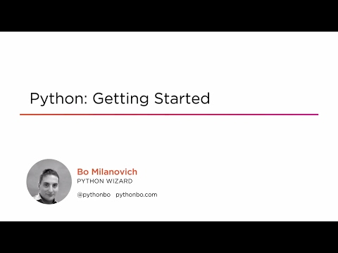 Course Preview: Python: Getting Started