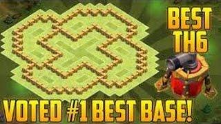 Clash of Clans: Best base for TH6(Najbolja baza za TH6)
