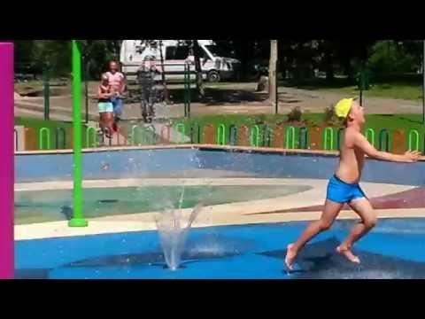 Otwarcie wodnego placu zabaw Będzin