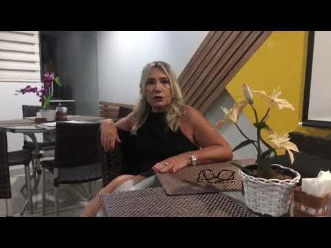 Bate-papo com Terezinha Ferreira, proprietária da Pousada Capital das Águas.